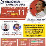 poster seminar entrepreneur