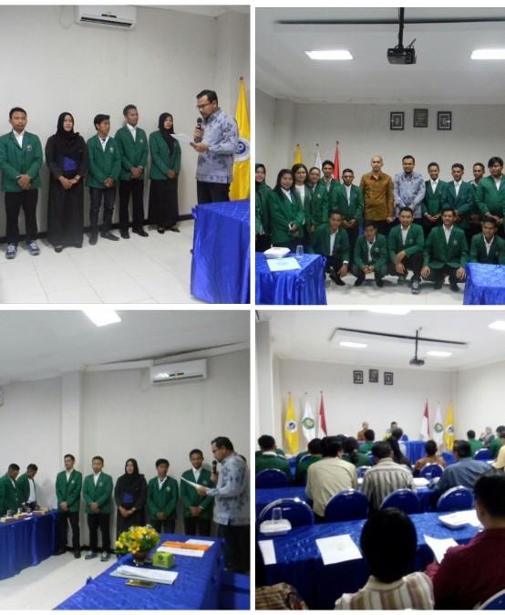 Pelantikan Ketua Organisasi Mahasiswa STIE YAPAN