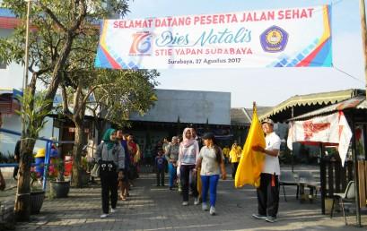 Jalan Sehat Dies Natalis STIE YAPAN Surabaya ke – 16