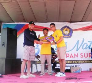 Pemenang Doorprize Hadiah Utama Jalan Sehat Dies Natalis STIE YAPAN ke-16