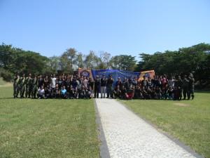Foto Bersama Peserta Bela Negara, Rektorat dan Pelatih Bela Negara