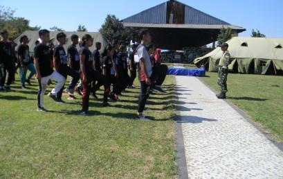 Mahasiswa Baru STIE YAPAN Mengikuti Pembinaan Bela Negara 2017