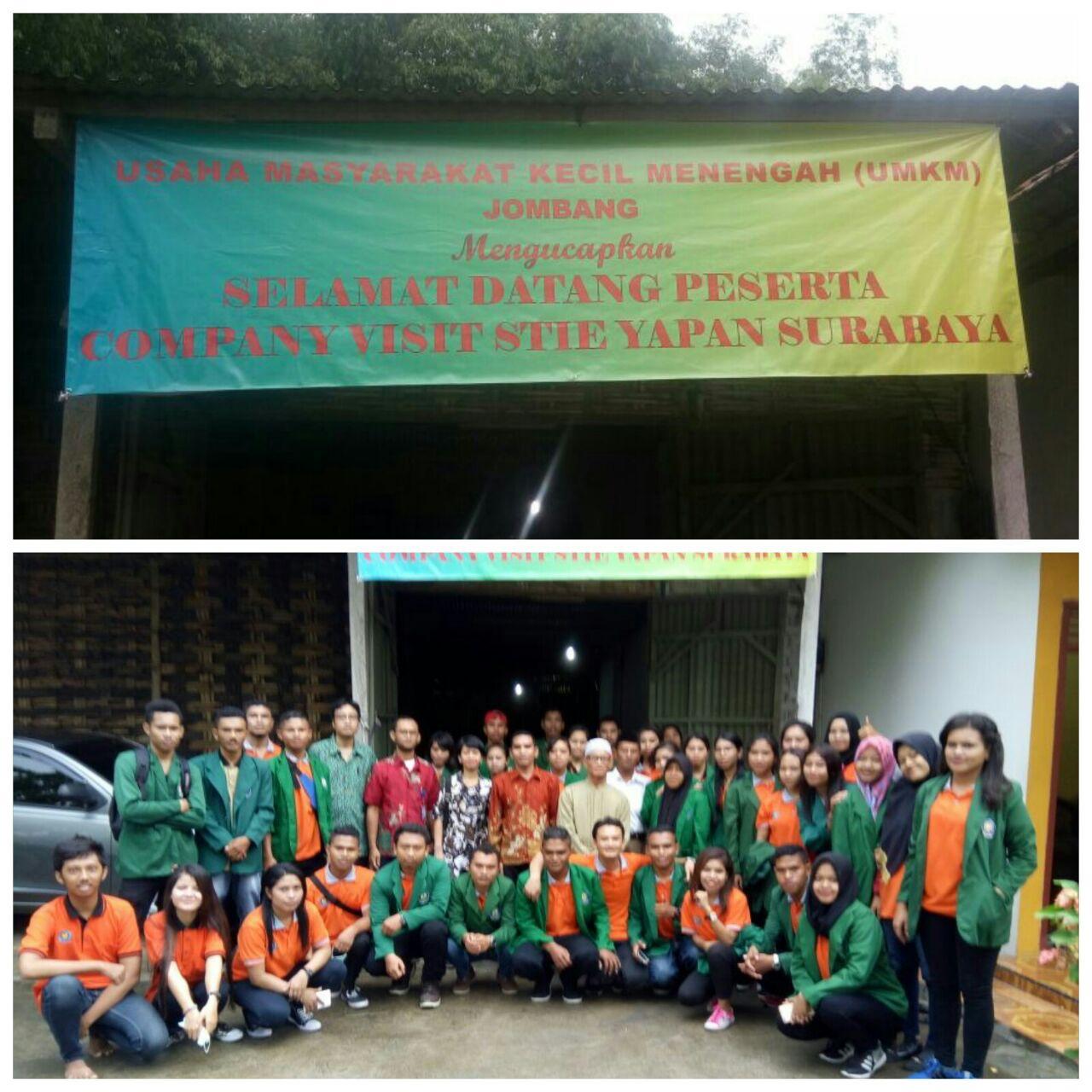 Company Visit Mahasiswa Prodi Akuntansi STIE YAPAN ke CV Setia Makmur ( UMKM ) Jombang