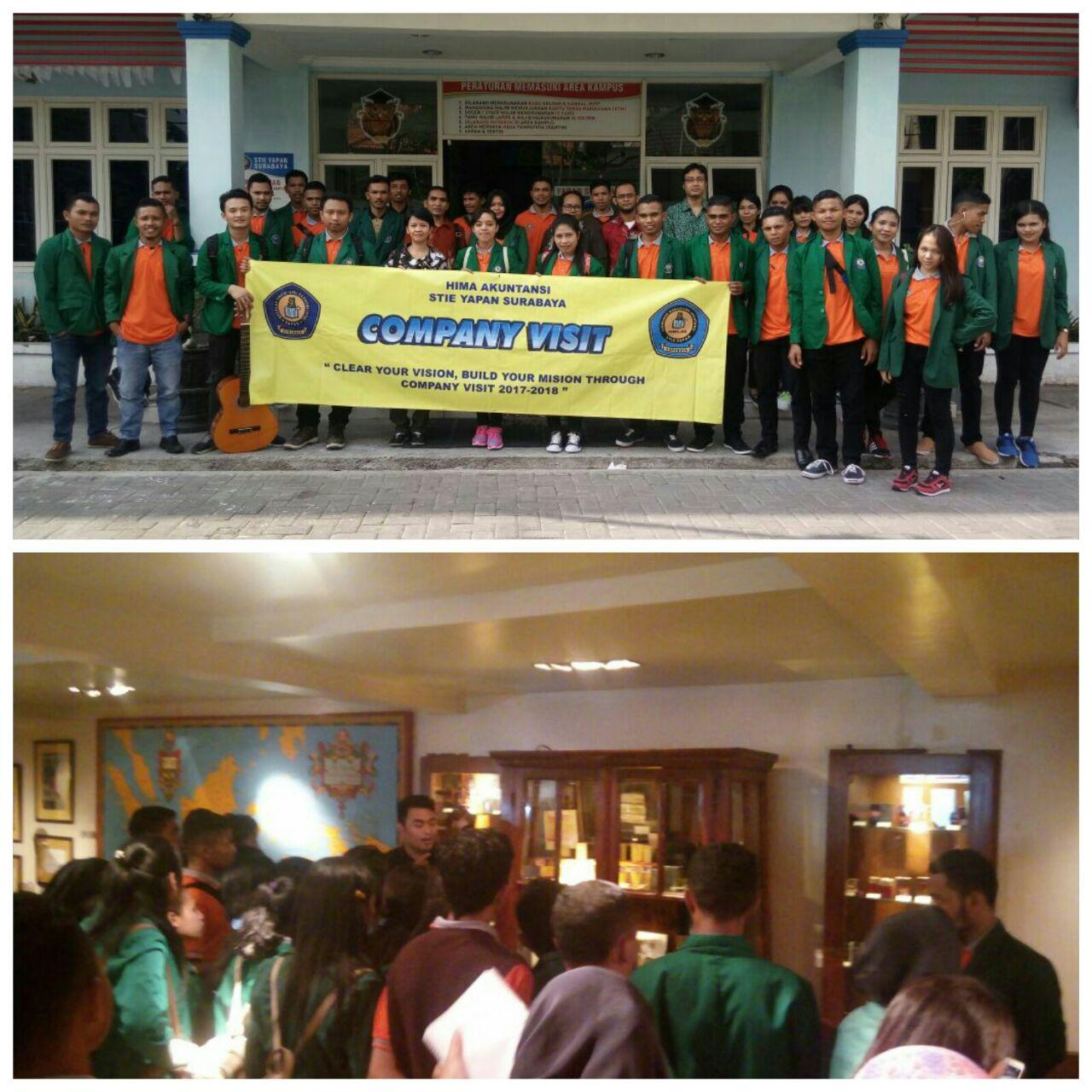 Company Visit Mahasiswa Prodi Akuntansi STIE YAPAN ke House Of Sampoerna – Surabaya
