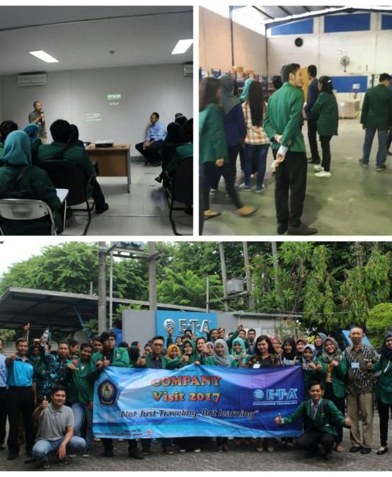 Company Visit Mahasiswa Prodi Manajemen STIE YAPAN ke PT. ETA Indonesia