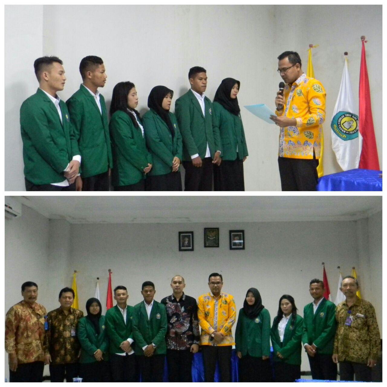 Pelantikan Ketua dan Anggota BEM STIE YAPAN Surabaya Periode Tahun 2017-2018