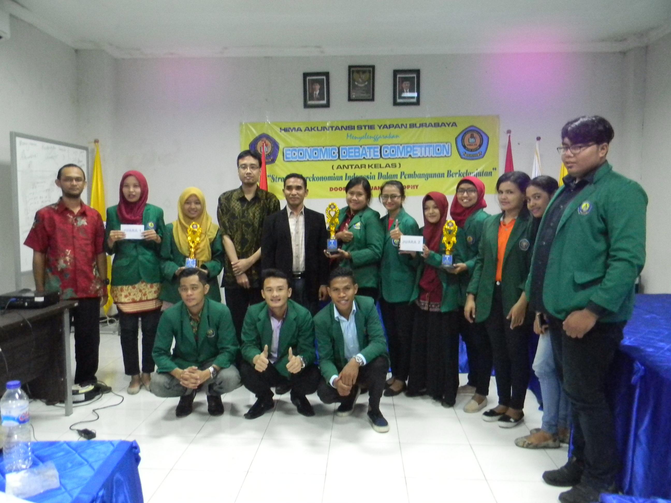 Economic Debate Competition Mahasiswa STIE YAPAN Surabaya