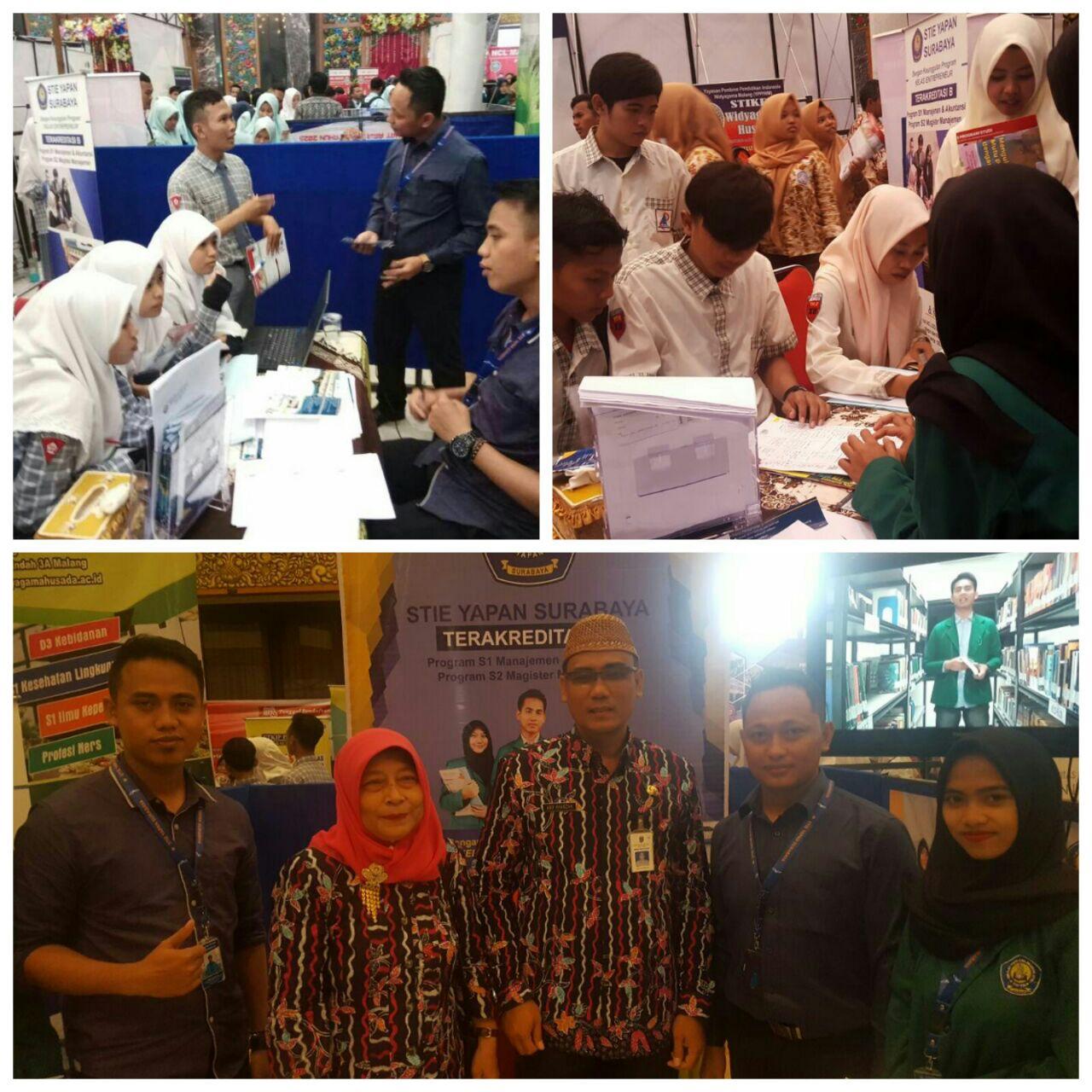 STIE YAPAN Surabaya Mengikuti Pameran Pendidikan di Bangkalan Madura