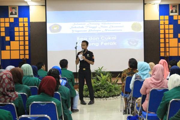 Company Visit Mahasiswa STIE YAPAN ke Kantor Bea Cukai Tipe Madya Pabean Tanjung Perak Surabaya