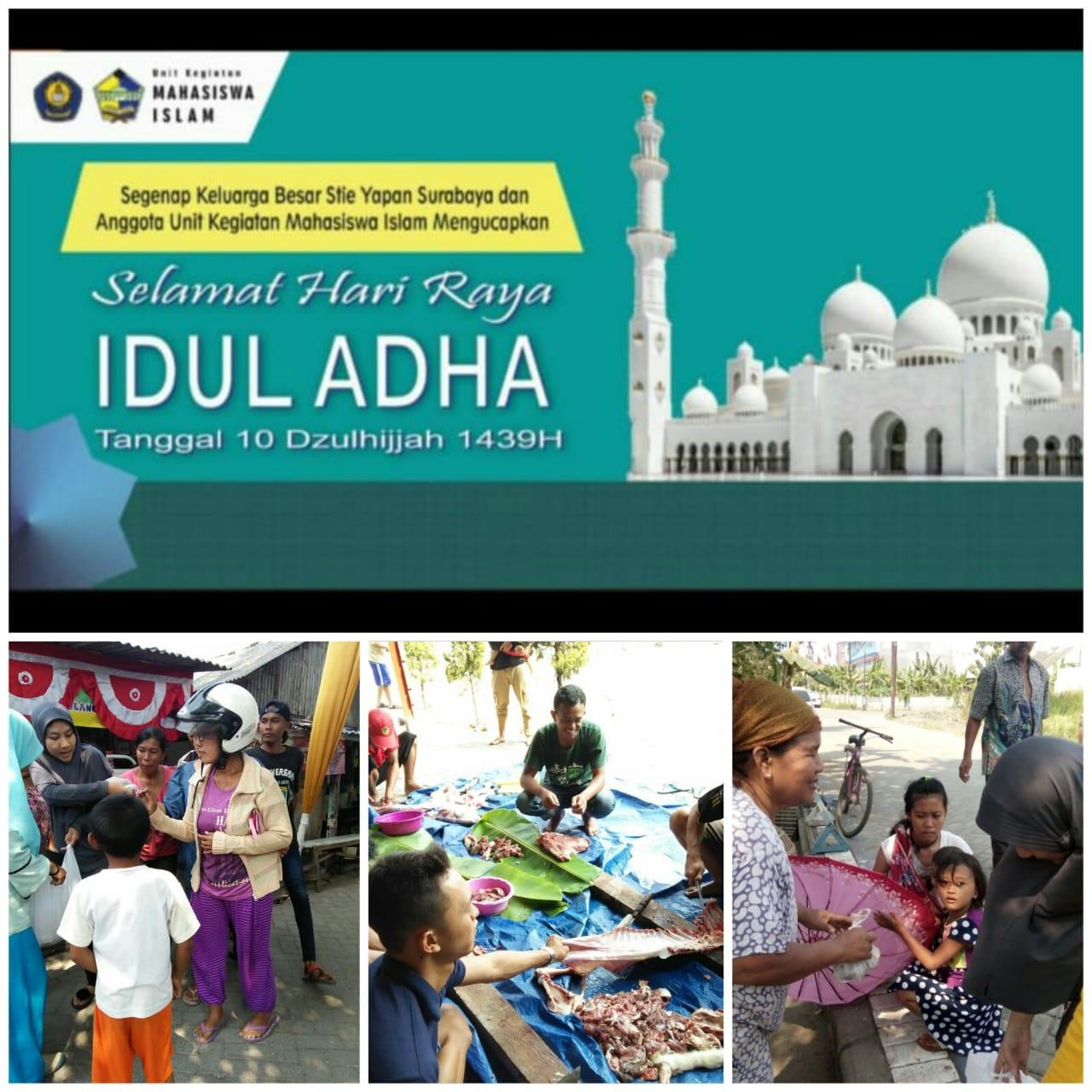 Mahasiswa UKMI STIE YAPAN Memperingati Hari Raya Idul Adha 2018