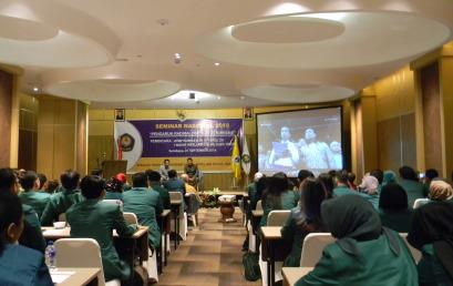 "Seminar Nasional STIE YAPAN 2018 ""Pengaruh Radikalisme dan Terorisme"""