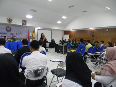STIE YAPAN Menyelenggarakan Kegiatan Pengenalan Kehidupan Kampus bagi Mahasiswa Baru (PKKMB) tahun 2018