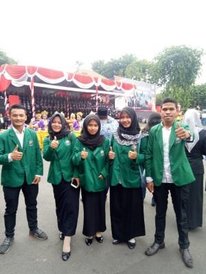 Mahasiswa STIE YAPAN Menghadiri Upacara Sumpah Pemuda ke-90 di Gedung Grahadi Surabaya