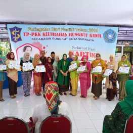 Kegiatan KKN Mahasiswa STIE YAPAN Tahun Akademik 2018/2019 di Kecamatan Rungkut.1
